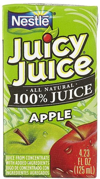 Amazon Com Juicy Juice Apple Juice 4 23 Oz 8 Ct 5 Pk Grocery Gourmet Food Every 8 oz serving provides 100% vitamin c. amazon com juicy juice apple juice
