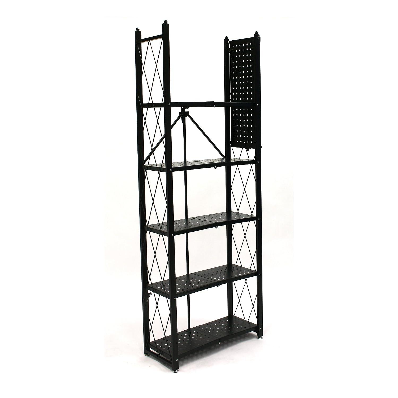 Fold Up Shelf Amazoncom Origami Rb 01 6 Tier Book Shelf Home Improvement