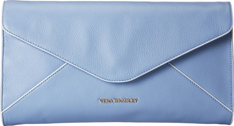 Vera Bradley Harper Genuine Leather Clutch Purse