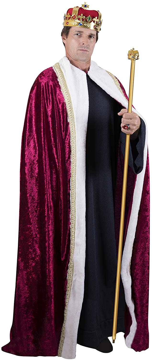 Kangaroo Halloween Costumes - King\'s Regal Robe Costume