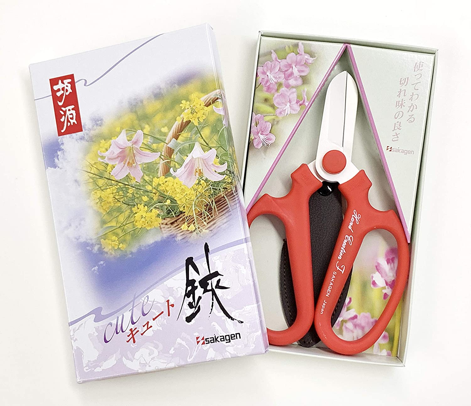 UK stock Japanese Sakagen Florist Flower Scissors Limited Edition Black Blade