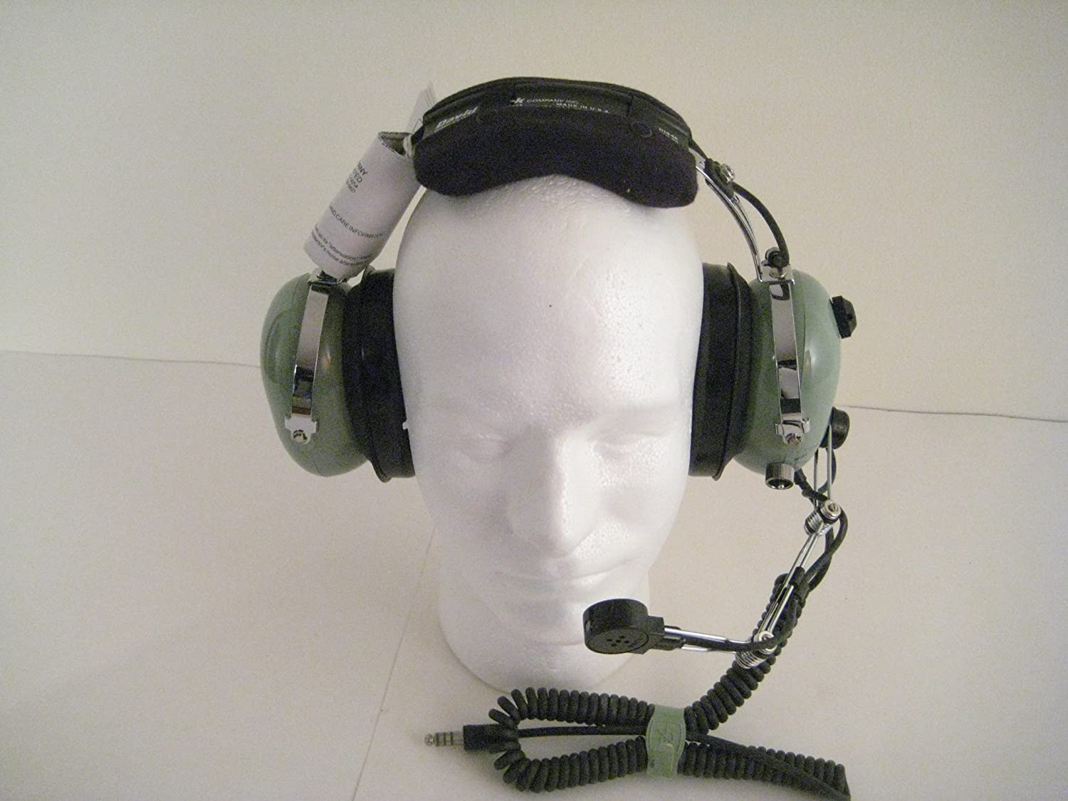 89412417637 Amazon.com  David Clark H10-66 Military Civilian Headset and Radio Adapter   Computers   Accessories