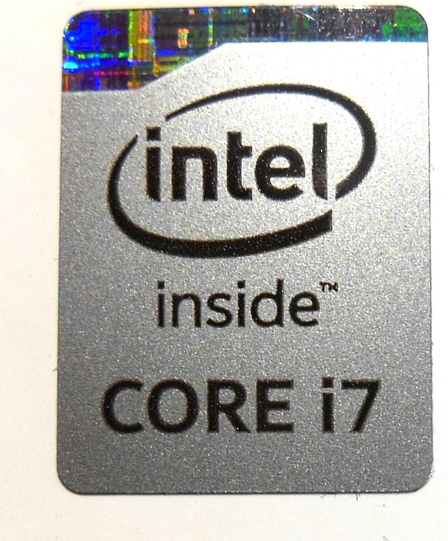 VATH Original Intel Core i7 Inside Sticker in Silver 16 x 21mm 5//8 x 7//8 934