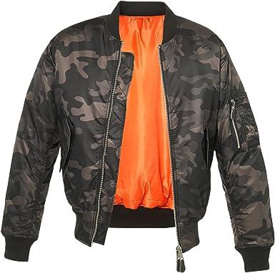Brandit chaqueta bomber para Hombre: Amazon.es: Ropa y accesorios