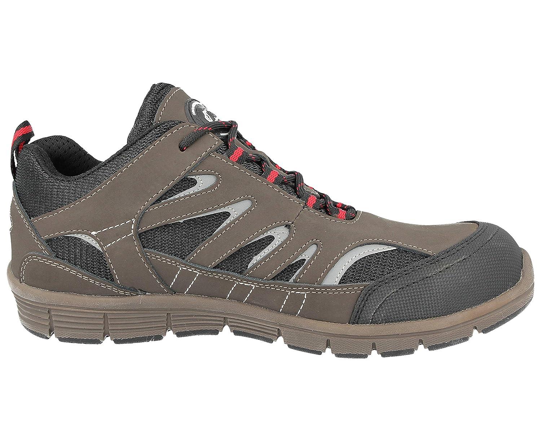 Baskets GR95/Groundwork avec embout en acier de s/écurit/é travail usine entrep/ôt Tailles 35.5 pour femme 42