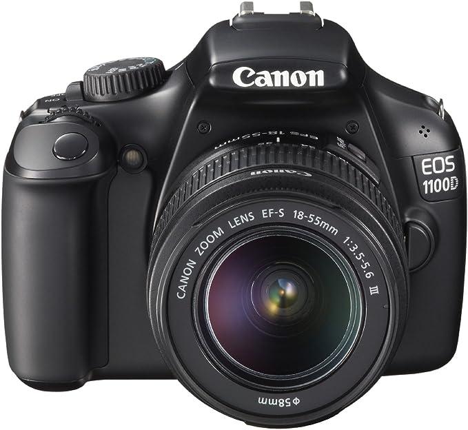 Canon EOS 1100D + EF-S 18-55mm: Amazon.es: Electrónica