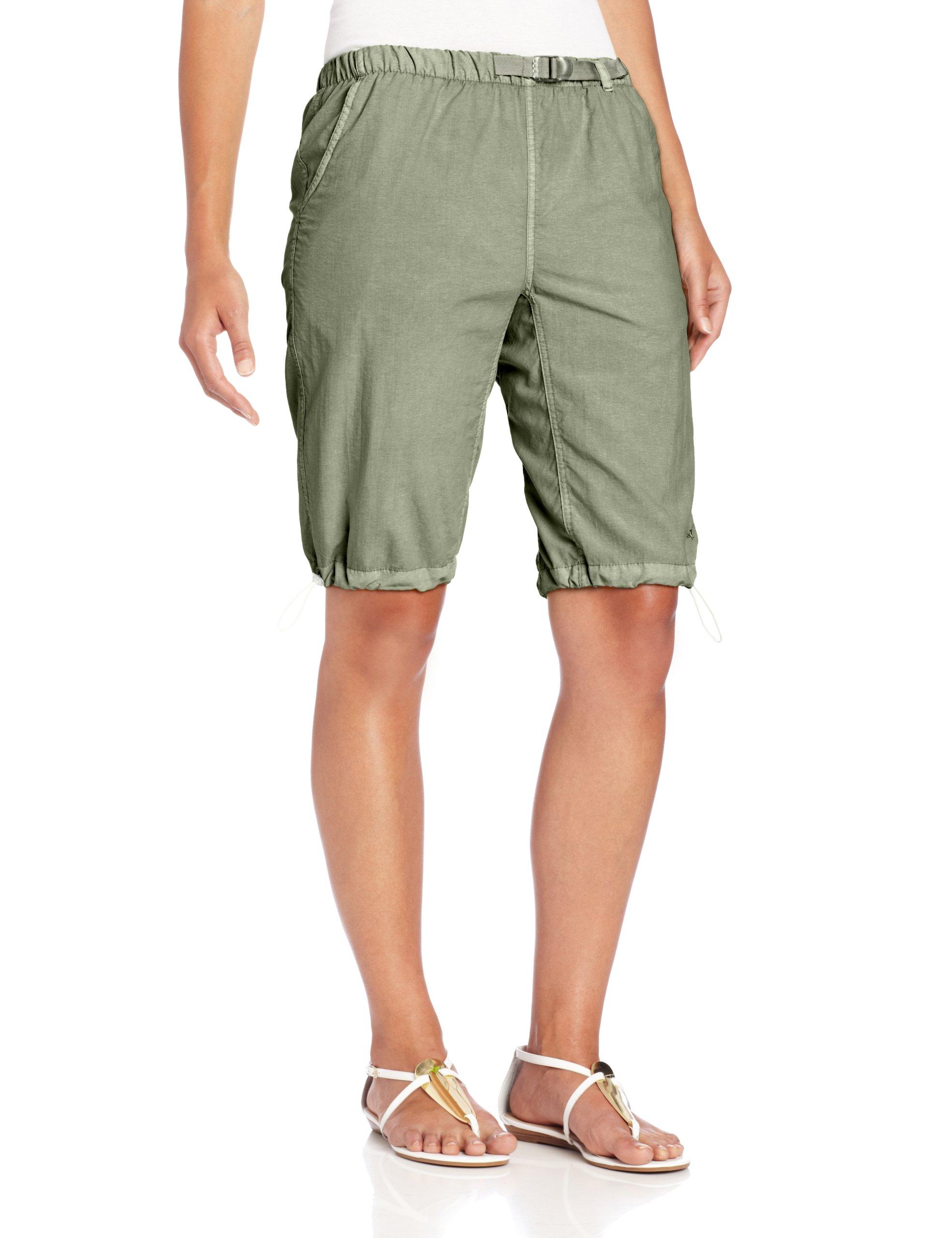 White Sierra Women's Hanalei Bermuda Shorts, Sage, Small