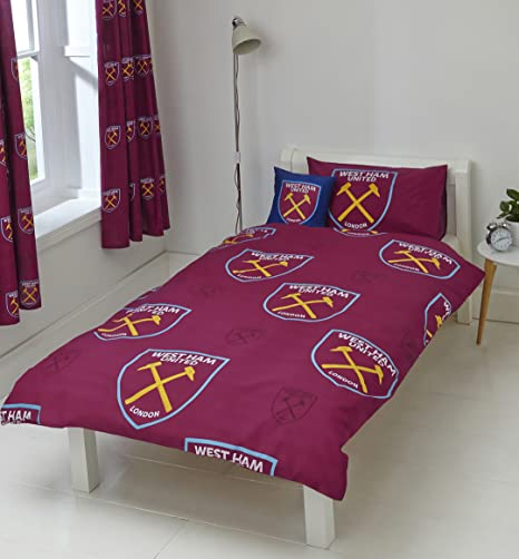 WEST HAM UNITED FC DUVET PILLOWCASE
