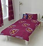 West Ham United FC Duvet Set, Claret, Single