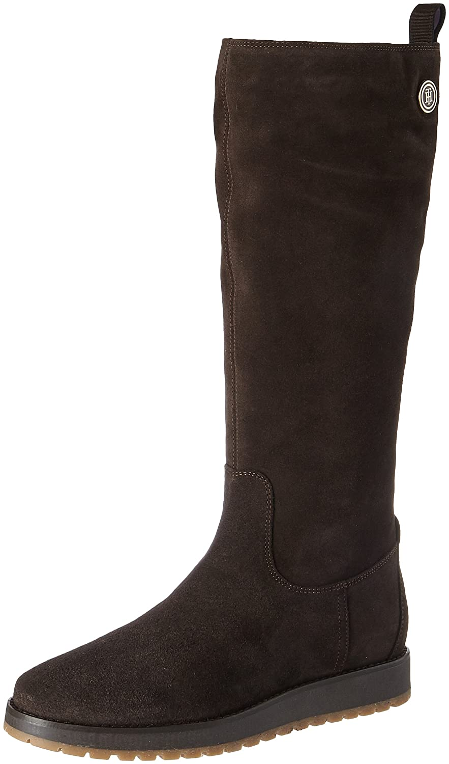 R1285Ita 4B, Bottes Cavalieres Femme, Marron (Coffee Bean) 41 EUTommy Hilfiger