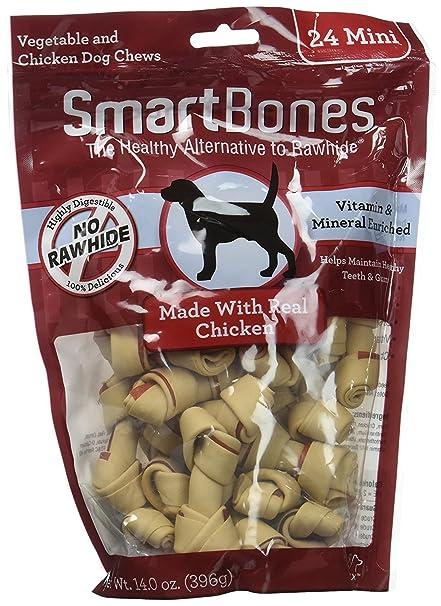 Smartbone Mini Chicken Dog Chews, 24 pcs