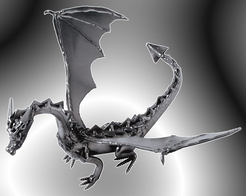 Boystoys HK HK HK Design - Drache  Dragon  Drachenfigur & Briefbeschwerer - Metall Art Fantasy-Figur - Geschenkideen Deko Skulptur Bürodeko - hochwertige Original Schraubenmännchen Figuren handgefertigt B0089VNZ90   Kompletter Spezifikationsbereich  154ad9