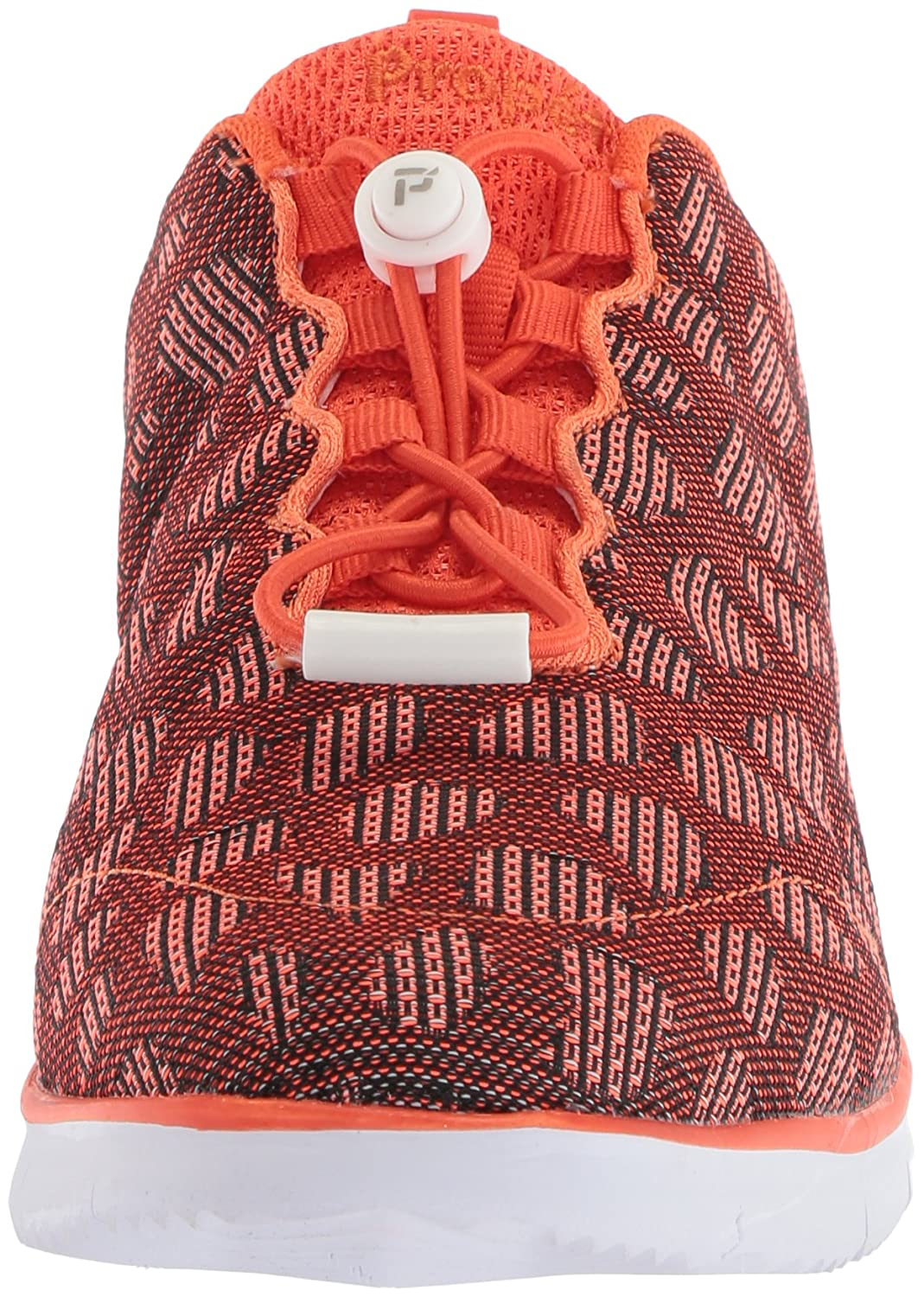 Propét Women's TravelFit Walking Shoe B073DKYV8W 6 4E US|Orange