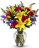 Benchmark Bouquets Joyful Wishes, With Vase