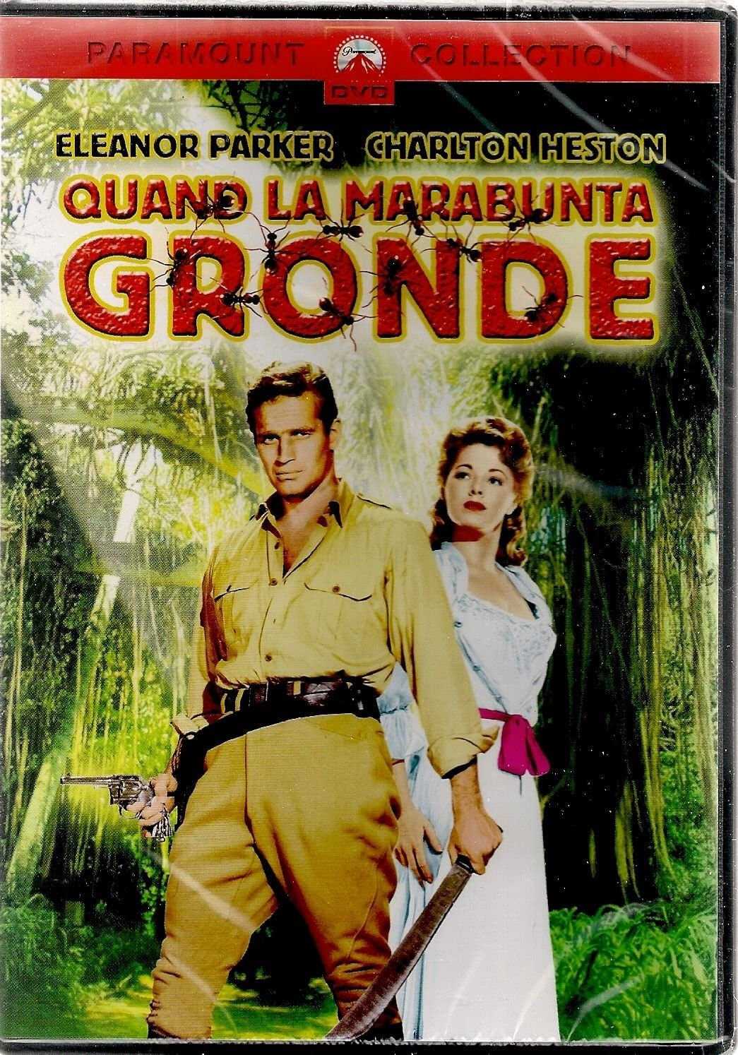 The Naked Jungle VHS Tape 1954 Adventure Charlton Heston