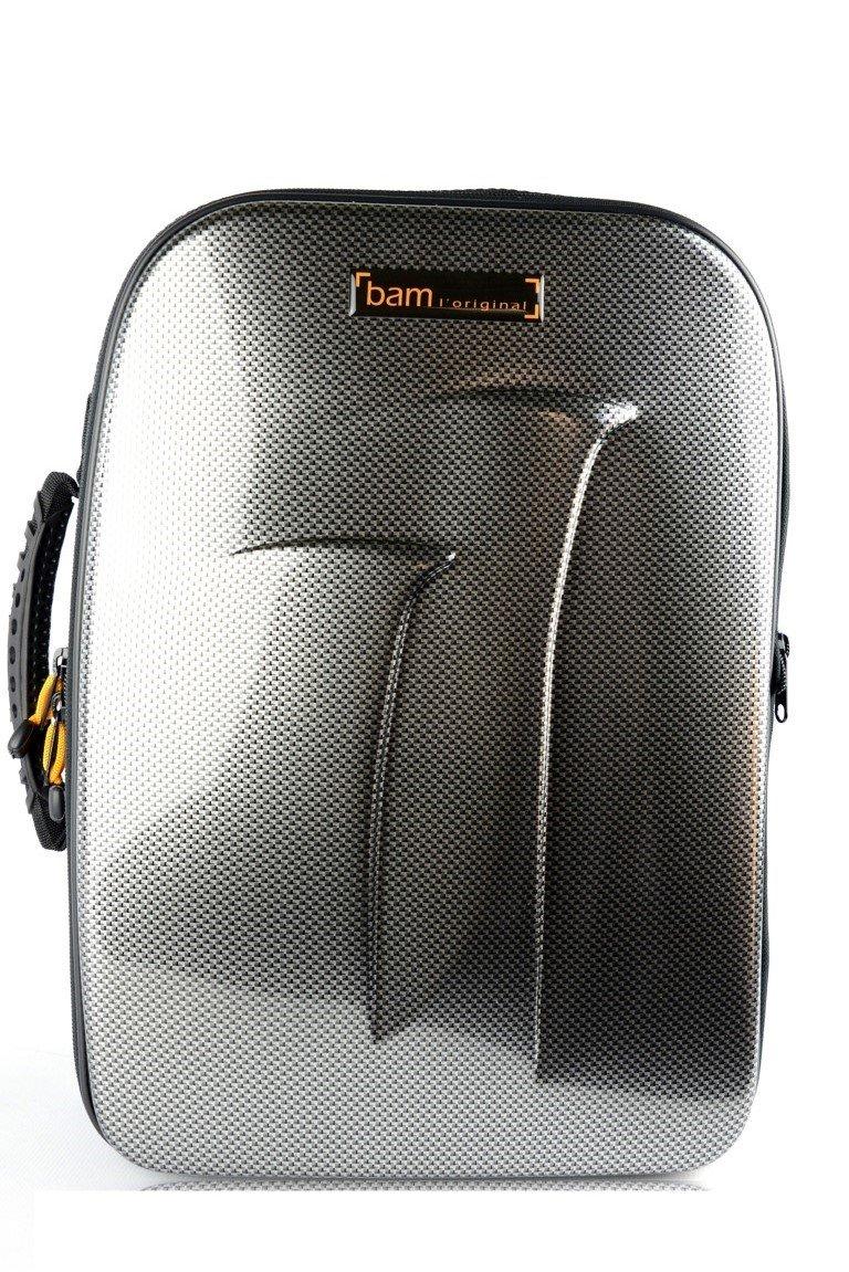 Bam New Trekking Double Clarinet Case Bb & A - Silver Carbon - TREK3028S