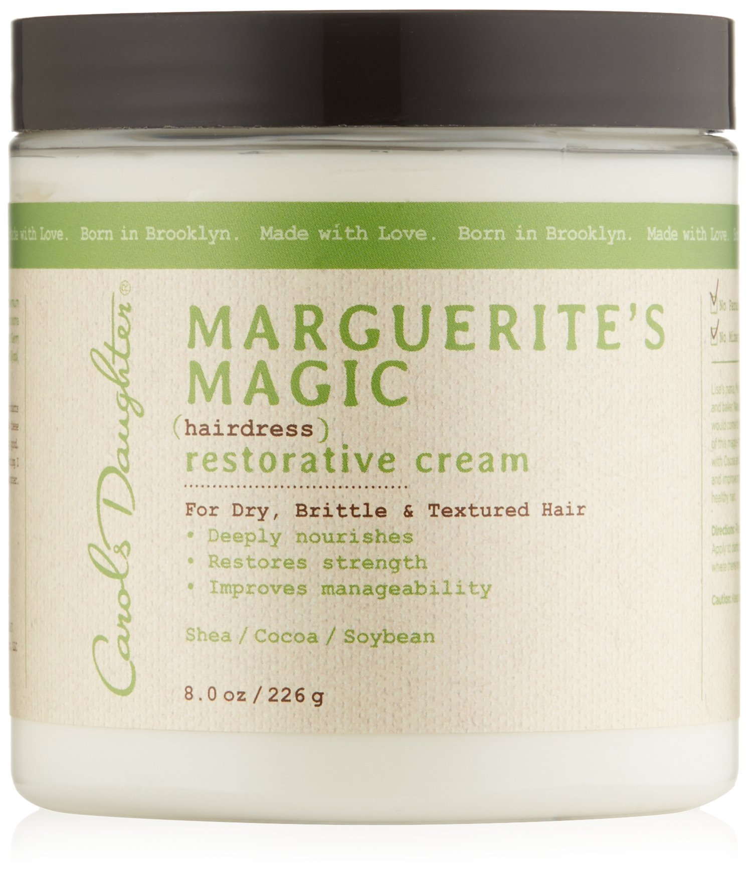 Carol's Daughter Marguerite's Magic Restorative Cream, 8 oz (Packaging May Vary)