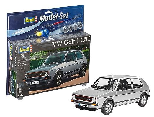 Revell 67072 Vw Golf 1 Gti Model Set Amazoncouk Toys Games