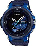 [カシオ] 腕時計 スマートアウトドアウォッチ プロトレックスマート GPS搭載 WSD-F30-BU メンズ ブラック