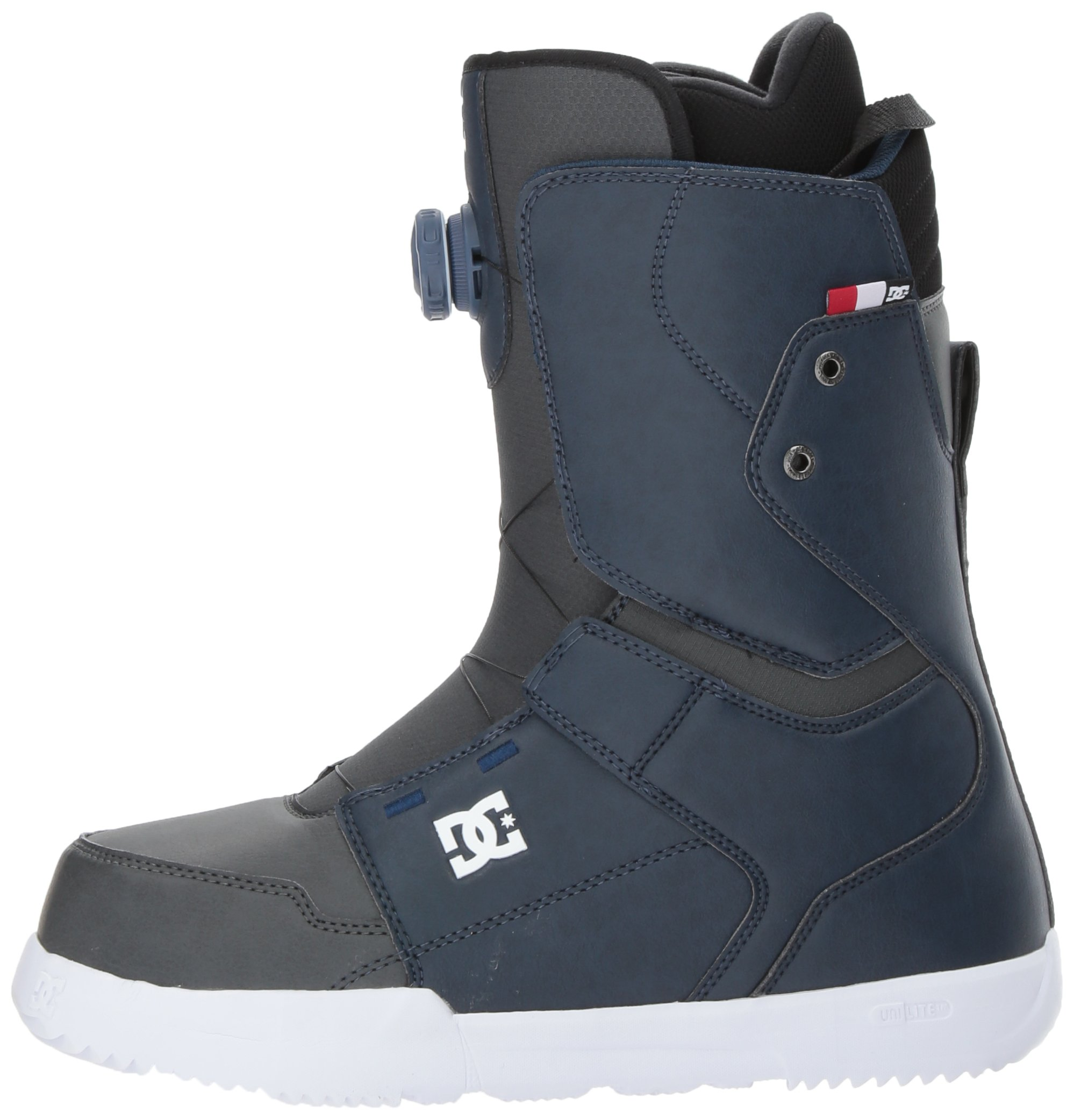 DC Men's Scout Boa Snowboard Boots, Insignia Blue, 7.5 by DC (Image #5)