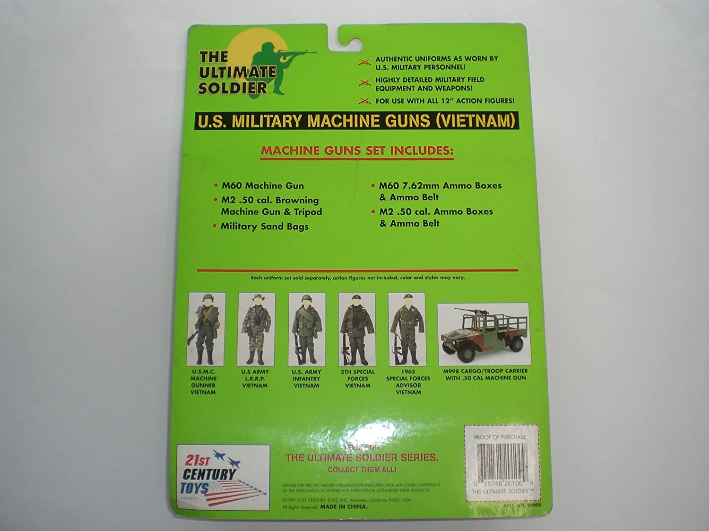 1//6 Scale 21st Century 50 Cal Ammo Belt /& Box
