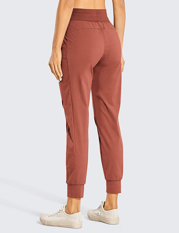 Persit Damen Jogginghose mit Taschen Hohe Taille Sweathose Sporthose Freizeithose Streetwear