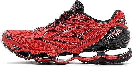 red mizuno running shoes