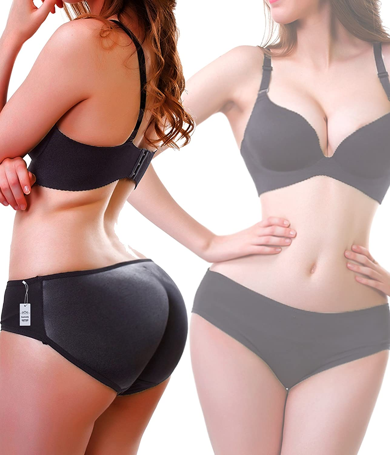 Gotoly Butt Lifter Padded Panty | Enhancing Body Shaper for Women | Seamless