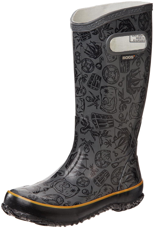 Bogs Kids' Rubber Boot Waterproof Boys and Girls Rain Rainboot - K