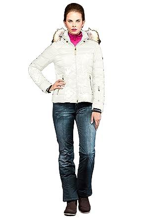 db8edb21a106c8 Amazon.com: EM-EL Bogner Sport Cyra-D Ski Jacket with Finnraccoon ...
