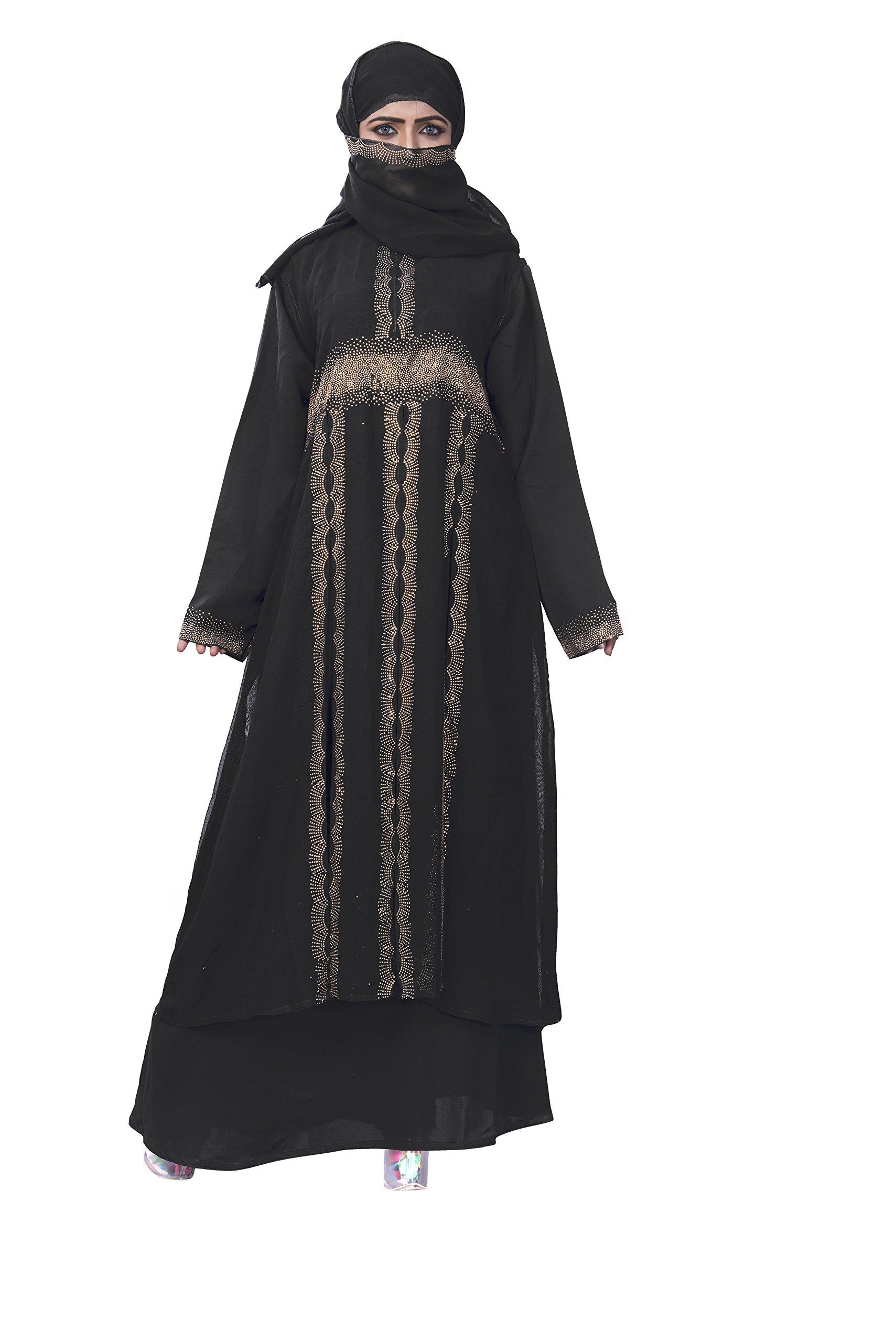 Women's Muslim Long Clothing Abaya Islamic Kaftan Burka Lady Cocktail Dress