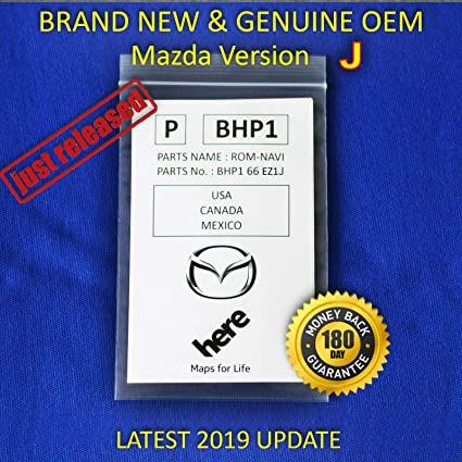 Latest 2019 SD Card Navigation BHP166EZ1J Mazda 6 CX-3 CX-5 CX-9