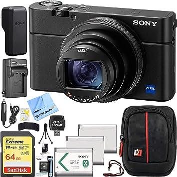 Cargador dual para Sony CyberShot dsc-rx100 VI dsc-rx100m6