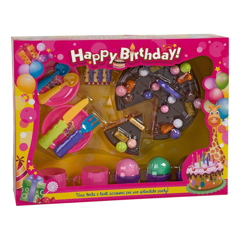 Amazon.com: Globo 36510 WToy - Tarta de cumpleaños con ...
