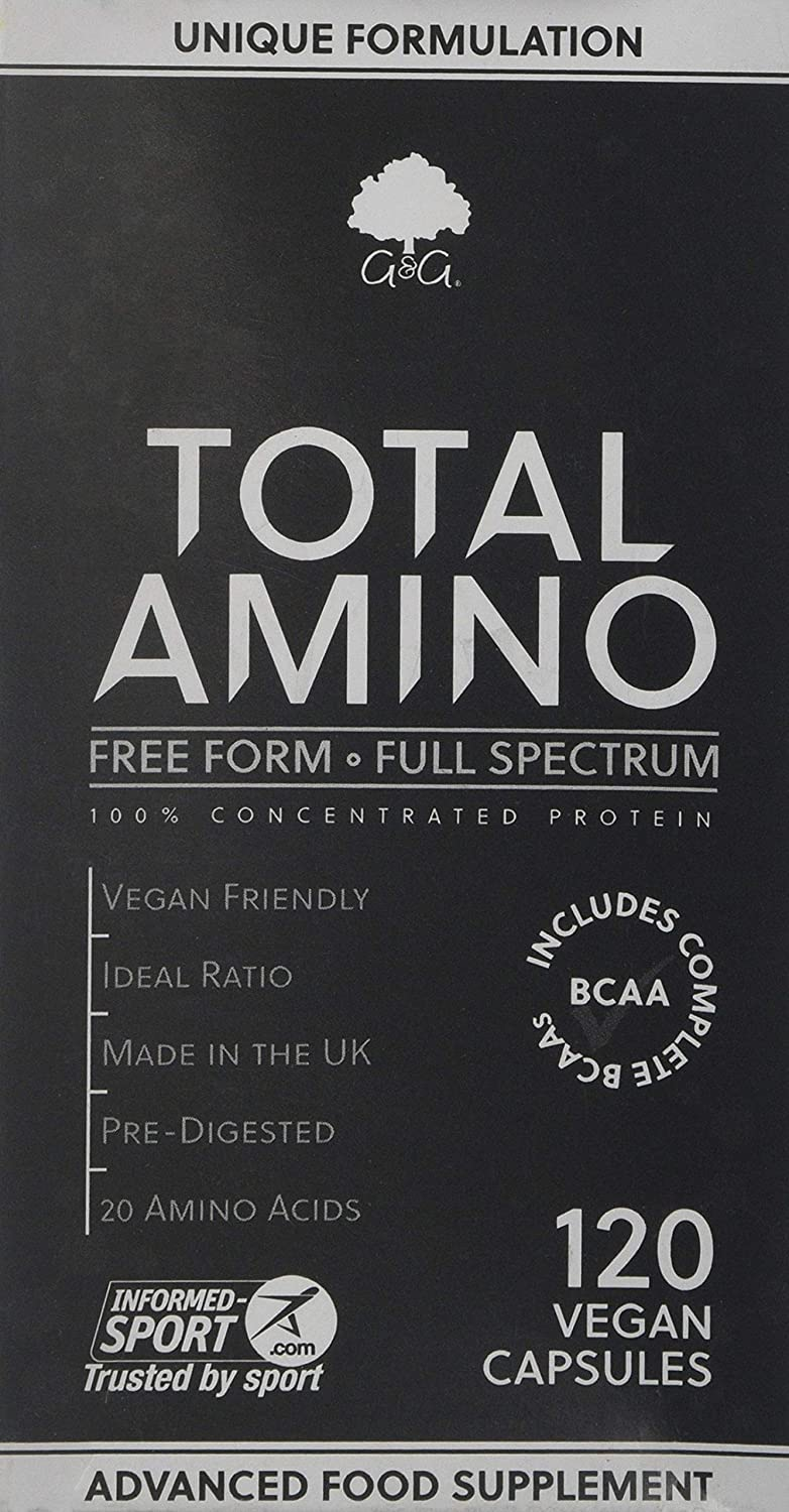 G&G Vitamins Total Amino Full Spectrum 120-Count