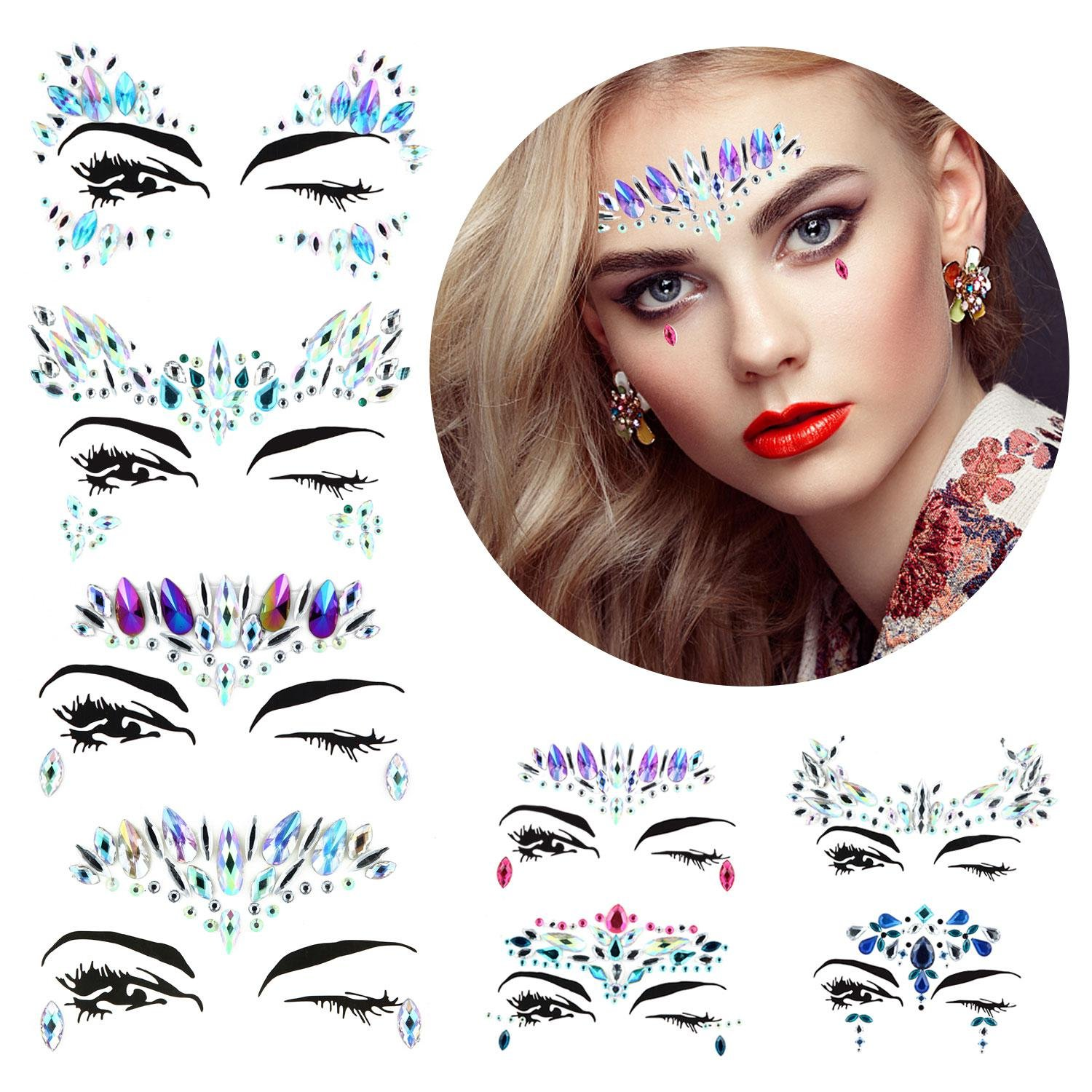 Festival Face Gems and Glitter Set a7489ad2256d