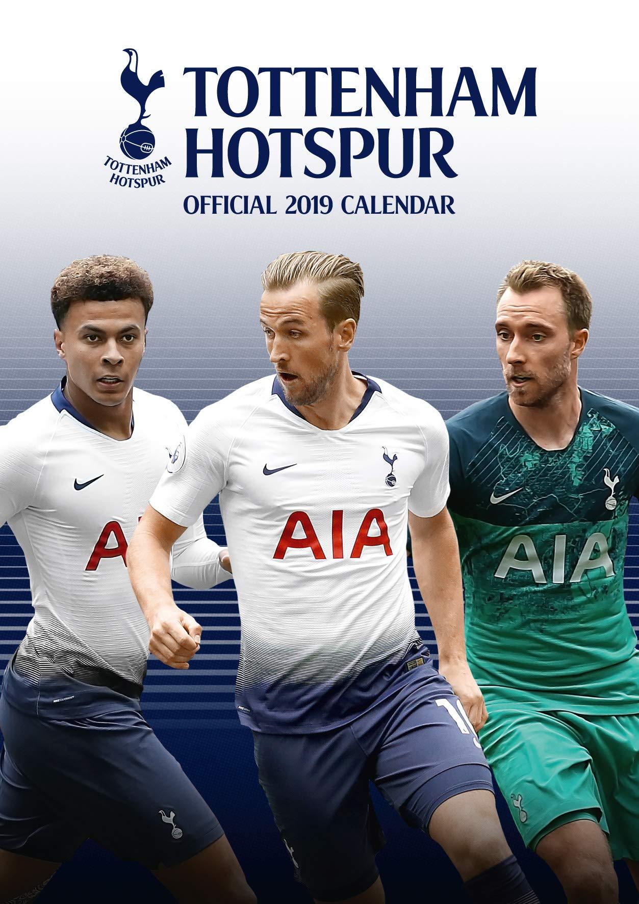 The Official Tottenham Hotspur F C Calendar 2019 Hotspur Tottenham 9781785497971 Amazon Com Books