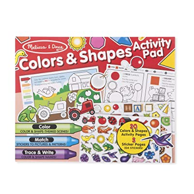 Melissa & Doug Colors & Shapes Activity Pad: Toys & Games
