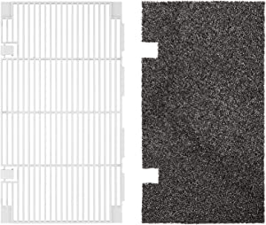 Kohree RV A/C Ducted Air Grille Duo-Therm AC Filter Cover for Dometic 3104928.019,RV Camper Air Conditioner Unit Grille Replacement Parts with Dometic AC Filter Pad