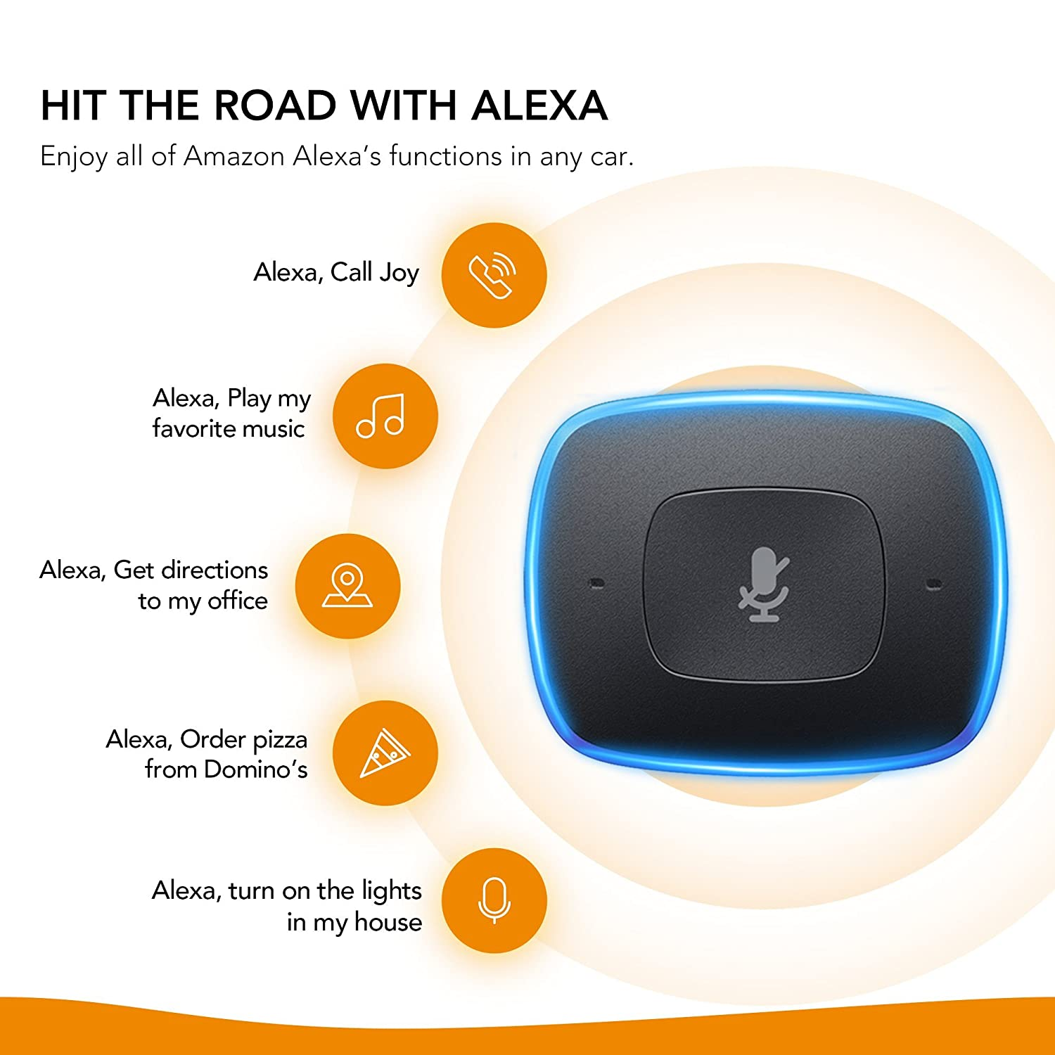Roav Viva With Car Mount By Anker Alexa Enabled 2 Port 350 Clk Electrical Wiring Diagram Usb Charger For In Navigation Hands Free Calling And Music Streaming Cell