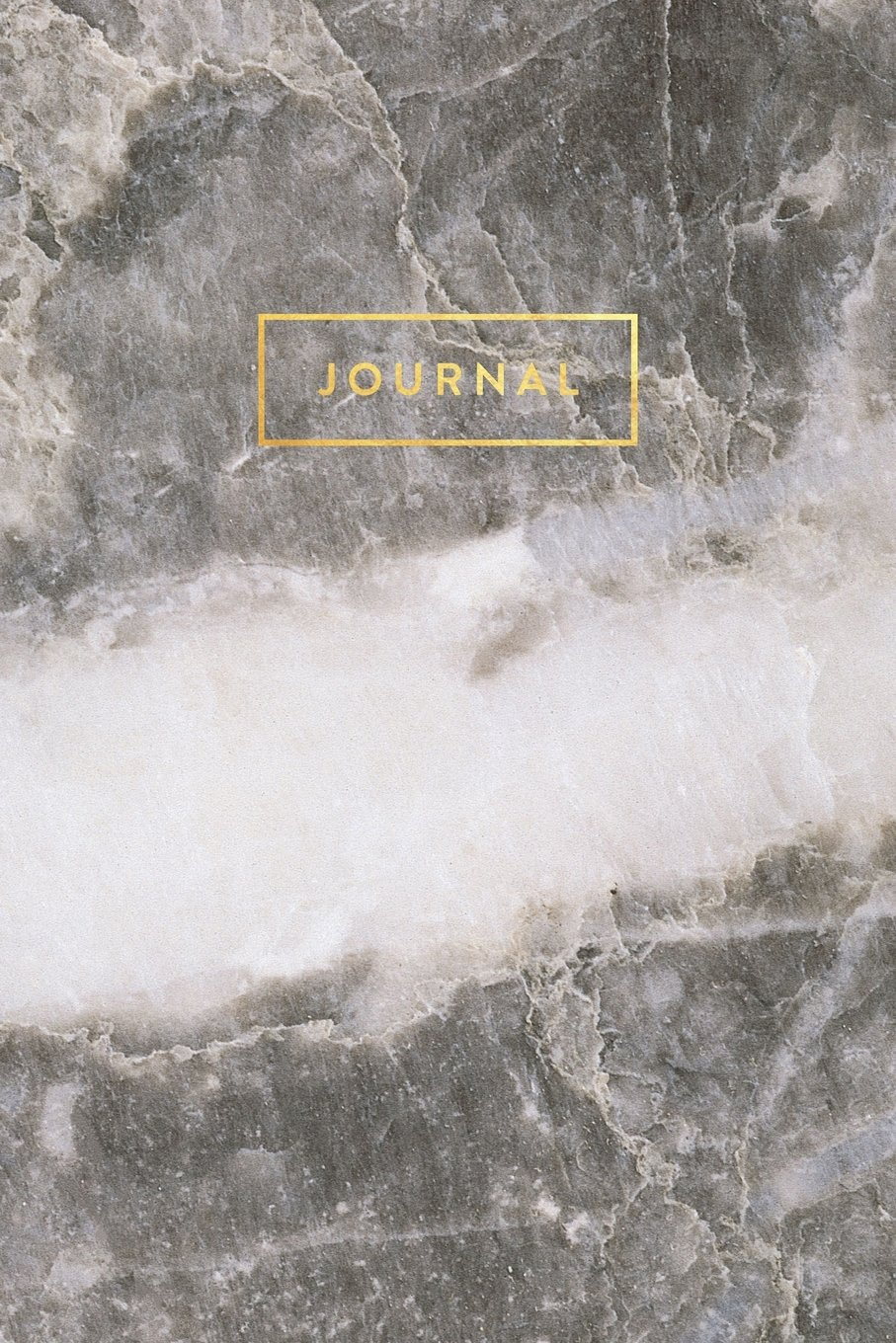 Download Journal: Gray Marble with Quartz and Elegant Gold Lettering - Marble & Gold Journal | 120 College-ruled Pages | 6 x 9 Size (Marble + Gold Collection - Journal, Notebook, Diary, Composition Book) PDF
