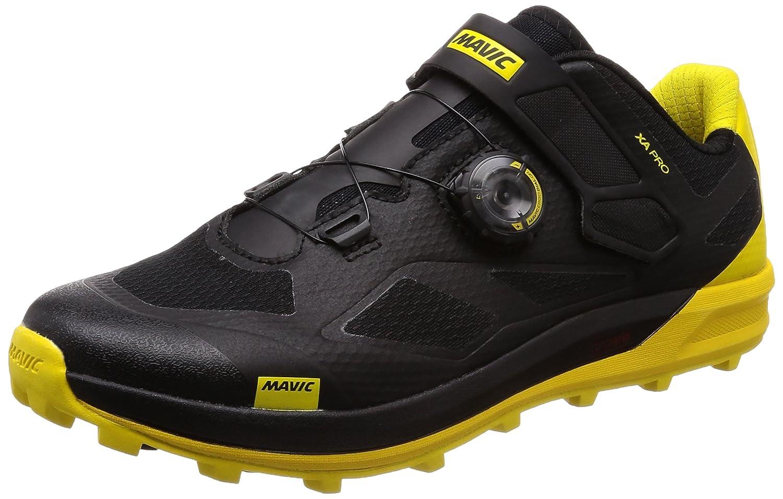 Mavic XA Pro Mountain Bike Shoe - Men's B075SDHXG9 US 11.5/UK 11.0 Black/Black/Yellow Mavic