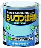 ロックペイント 水性シリコン建物用塗料 しろ 1.6L H11-0100-6S