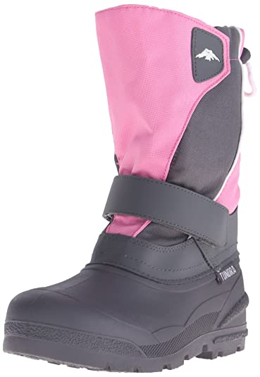 Tundra 492-36095 Boot,Pink/Charcoal,2 M US Little Kid