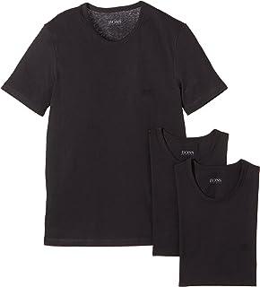 c213046a BOSS Men's T-Shirt Rn Co Pack of 3: Amazon.co.uk: Clothing