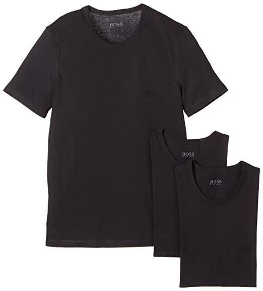 c4ca6d8ec BOSS Hugo Boss Men's Crew Neck T-Shirts: Amazon.co.uk: Clothing