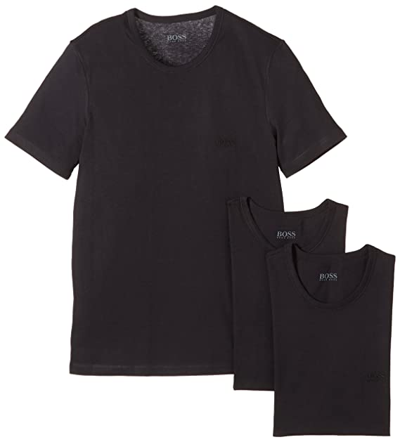 a1ba23bcb7b9 BOSS Hugo Boss Men s Crew Neck T-Shirts  Amazon.co.uk  Clothing