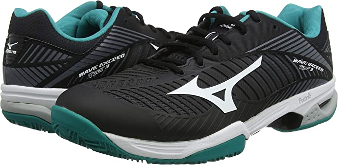 Mizuno Wave Exceed Tour 3 CC, Zapatillas de Tenis Unisex Adulto ...