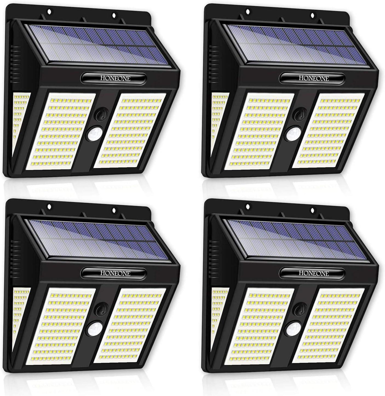 50% Off Coupon – Solar Motion Sensor Lights 4-Pack