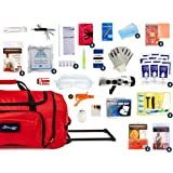 Complete Earthquake Bag - Emergency kit for Earthquakes, Hurricanes, Wildfires, Floods + other disasters (4 person, 3…
